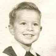 Hank Nuwer, around age 4